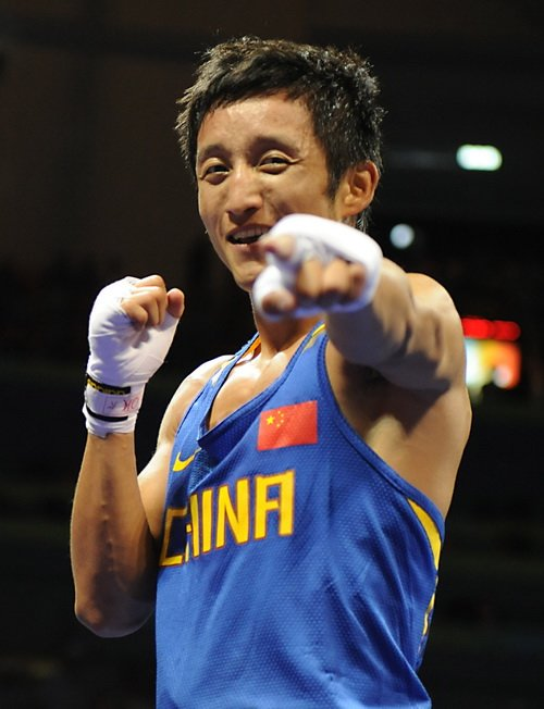 Zou Shiming, China's first-ever Olympic boxing champion