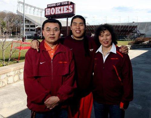 Ed Wang Kai and His Parents