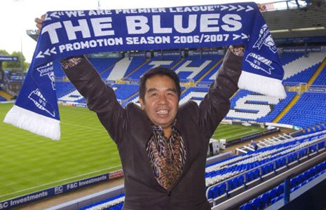 Birmingham City FC owner Carson Yeung in happier times