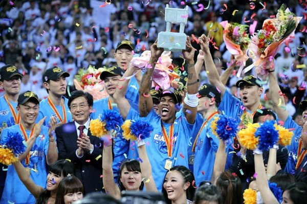 Marbury keeps his word and delivers Beijing its first CBA title